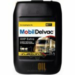 Mobil Delvac XHP Extra 10W-40 20л синтетическое моторное масло